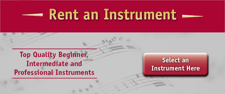 Rent an Instrument from Creative Music Center